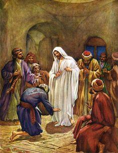 Jesús se aparece a los discípulos de William agujero