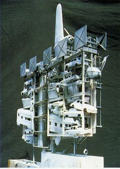 visions of future.......does look sort of like the space station!