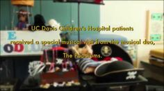 The Poodlums, a children's musical duo, performed for UC Davis Children's Hospital patients.