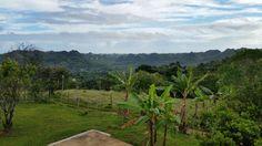Angeles Utuado Puerto Rico, morning view from balcony.