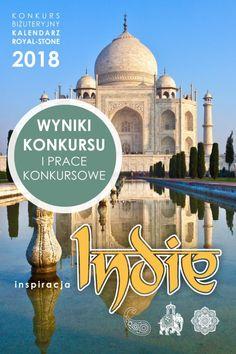 Royal Stone konkurs Kalendarz 2018 | Royal-Stone blog Taj Mahal, Indie, Stone, Building, Blog, Travel, Jewelry, Rock, Viajes
