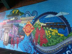 More Atlantic Ave mural.