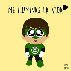 Green Lantern- Irene Calvo
