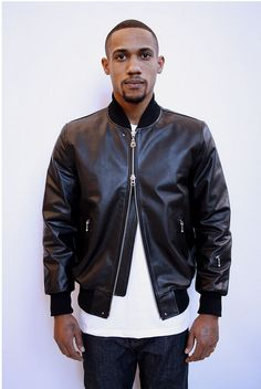 MKI Black is a new outerwear label under the MKI umbrella. From London, UK, they have been producing some nicely executed pieces in numerous styles. They use premium materials and charge a very reasonable price for their products. This classic leather bomber jacket is a perfect piece for anybody's wardrobe.