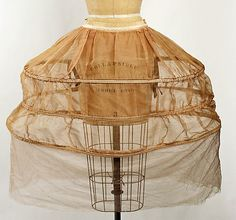 To put that Hoop in the skirt (of course you cannot sit after!)