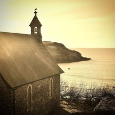 Image © Devon Family History Research 2016. All rights reserved. St. Clement's Church at Hope Cove nr Kingsbridge south Devon - still a working church and the location of one of our latest family history projects.  Hope Cove was once famous for fishing and smuggling. In 1588 the ships of the Spanish Armada passed the village as they moved up the Channel. On their return, a ship was wrecked at Hope. The 140 survivors were eventually sent back to Spain. Today it is a small seaside village… Devon Life, Spanish Armada, Pirate Queen, Heritage Scrapbooking, South Devon, Seaside Village, History Projects, Church Wedding, Somerset