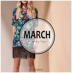 Hello March... let spring begin #Guimanos