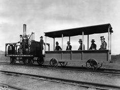 Самый первый паровоз в мире | Colors.life