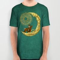 Moon Travel All Over Print Shirt