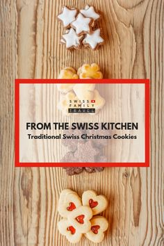 swedish christmas cookies Weihnachtspltzchen Learn about Swiss Christmas Cookies, with recipes as well Swiss Desserts, Swiss Recipes, Holiday Baking, Christmas Baking, Christmas Desserts, Christmas Holidays, Switzerland Christmas, Traditional Christmas Cookies, Heritage Recipe
