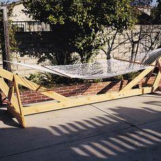 Hammock Frame Woodworking Plan by U-Bild Woodworking Plans