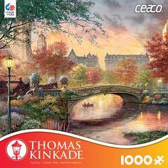 Thomas Kinkade 1000 Piece Puzzle -Autumn in New York
