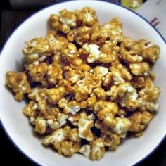 Caramel Corn by cookingactress