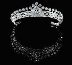 1930 Cartier diamond tiara, which belonged to Mary Innes-Ker, the Duchess of Roxburghe
