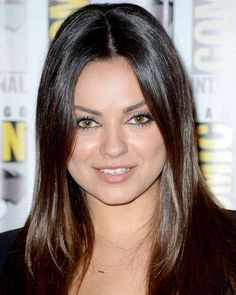 Amp Up Your Color - Mila Kunis's Two-Tone Espresso from #InStyle