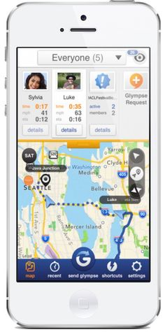 Glympse app is a smart, safe way for caregivers to share locations with parents without texting back and forth