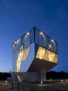 Community Centre Herstedlund (2009) in Albertslund, Denmark by Dorte Mandrup Arkitekter Aps
