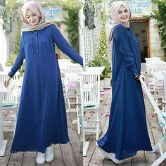 Modest Fashion Hijab, Hijab Chic, Abaya Fashion, Muslim Fashion, Fashion Dresses, Hijab Outfit, Hijab Dress, Modele Hijab, Iranian Women Fashion