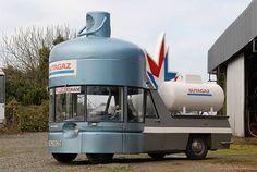 Rotron-bodied 1962 Simca 1000 Butagaz