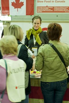 Dawn Woodward, Canadian Delegate for Slow Food Terra Madre Turin, Italy, 2012