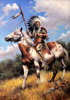 pictures of native american warriors Native American Paintings, Native American Pictures, Indian Pictures, Native American Artists, Native American History, Indian Paintings, Native Indian, Native Art, Indian Horses