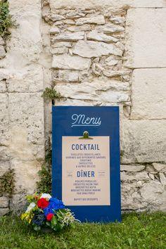 Un mariage à Orgon par Monsieur+Madame (M+M). Thème Champêtre dans les tons rouge & bleu. ©Cédric Dendoune www.monsieurplusmadame.fr