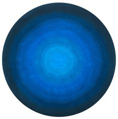 In house design Made with pure wool in pile. diameter Available in alternative colour-way and in any size. Rug Shop, Designer Rugs, Handmade Rugs, Decorative Bowls, Ireland, House Design, Pure Products, Blue, Color