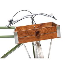 Brooklyn Bicycle Co. Handcrafted Wooden Front Bicycle Crate