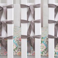 Found it at Wayfair - Oliver B Minky Ventilated Slat Bumper - Color: Dove Grey (Set of 20)http://www.wayfair.com/Oliver-B-Minky-Ventilated-Slat-Bumper-OBN0103-OVQ1001.html?refid=SBP.rBAZEVQXw2RwI19zHUclAgAAAAAAAAAAAAAAAAAAAAA