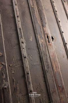 Reclaimed Oak Arch Topped Doors