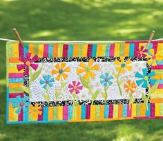 Flower Appliqué Quilts