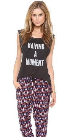 Feel The Piece T Jacobs 'Having a Moment' Tank | SHOPBOP