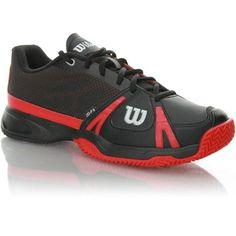Zapatilla ideal para jugadores de tenis y pádel que precisan de agarre y estabilidad en la pista http://www.onlytenis.com/zapatillas-de-tenis-y-padel/826-wilson-m-rush-clay-court.html