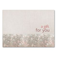 Salon Faux Silver Sequins Salon Gift Certificate Business Card. This is a fully customizable business card and available on several paper types for your needs. You can upload your own image or use the image as is. Just click this template to get started!