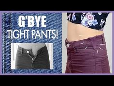 Make Your Pants Fit Better!- Sewing Tutorial - YouTube