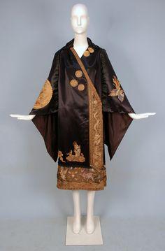 Silk evening coat, ? ca. 1920s, LOT 740 - whitakerauction