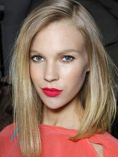 Lob and lipstick