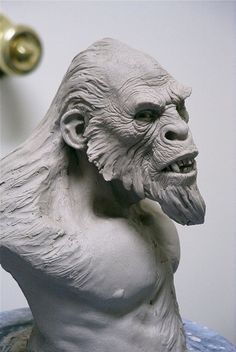 Yeti by Jordu Schell   ★ || iAnimate || ★  Find more at https://www.facebook.com/iAnimate.net http://www.pinterest.com/ianimateschool/ #ianimate  iAnimate.net is quite simply the best animation program in the world. #animation #sculpture #maquette