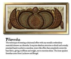 Exquisite Embroideries- FAREESHA