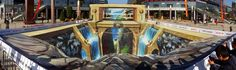 a look at the 3D mural work of beijing-based street artist QI XINGHUA (aka: MICHAEL QI) /// NeochaEDGE ///