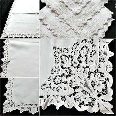venise lace napkins - Google Search