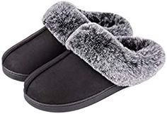 Amazon.com: Online Shopping for Electronics, Apparel, Computers, Books, DVDs & more Loafer Slippers, Knitted Slippers, Faux Fur Collar, Fur Collars, Indoor Outdoor Slippers, Cool Gifts For Women, Classic Sneakers, Vintage Shorts, Polar Fleece