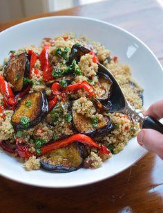 Roast Vegetable & Quinoa Salad