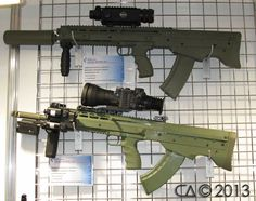 New Kalashnikov Inc. AS-1 and AS-2 Bullpup Rifles. I love the sound of that!
