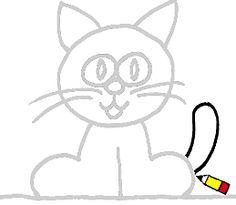 Apprendre dessiner facilement on pinterest animaux drawing cartoons and how to draw - Apprendre a dessiner pour enfant ...