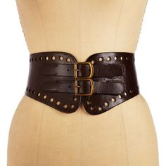 Brown Leather Corset Belt | ... leather belt with cut out detail $ 67 $ 47 asos com real leather belts