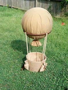 Hot air balloon idea