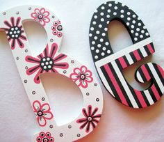 Love painted letters