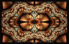 copper color fractals - Google Search