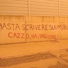 Star Walls - Scritte sui muri. — Burloni ahaha